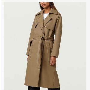 FINERY NEW WITH TAGS CLASSIC TRENCH COAT SIZE 2